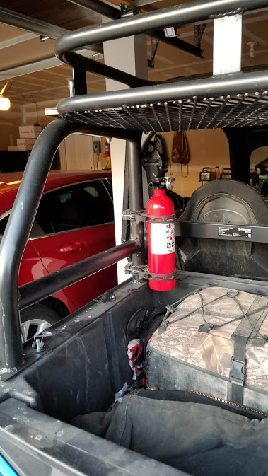 Fire Extinguisher Polaris General 1000 Forum