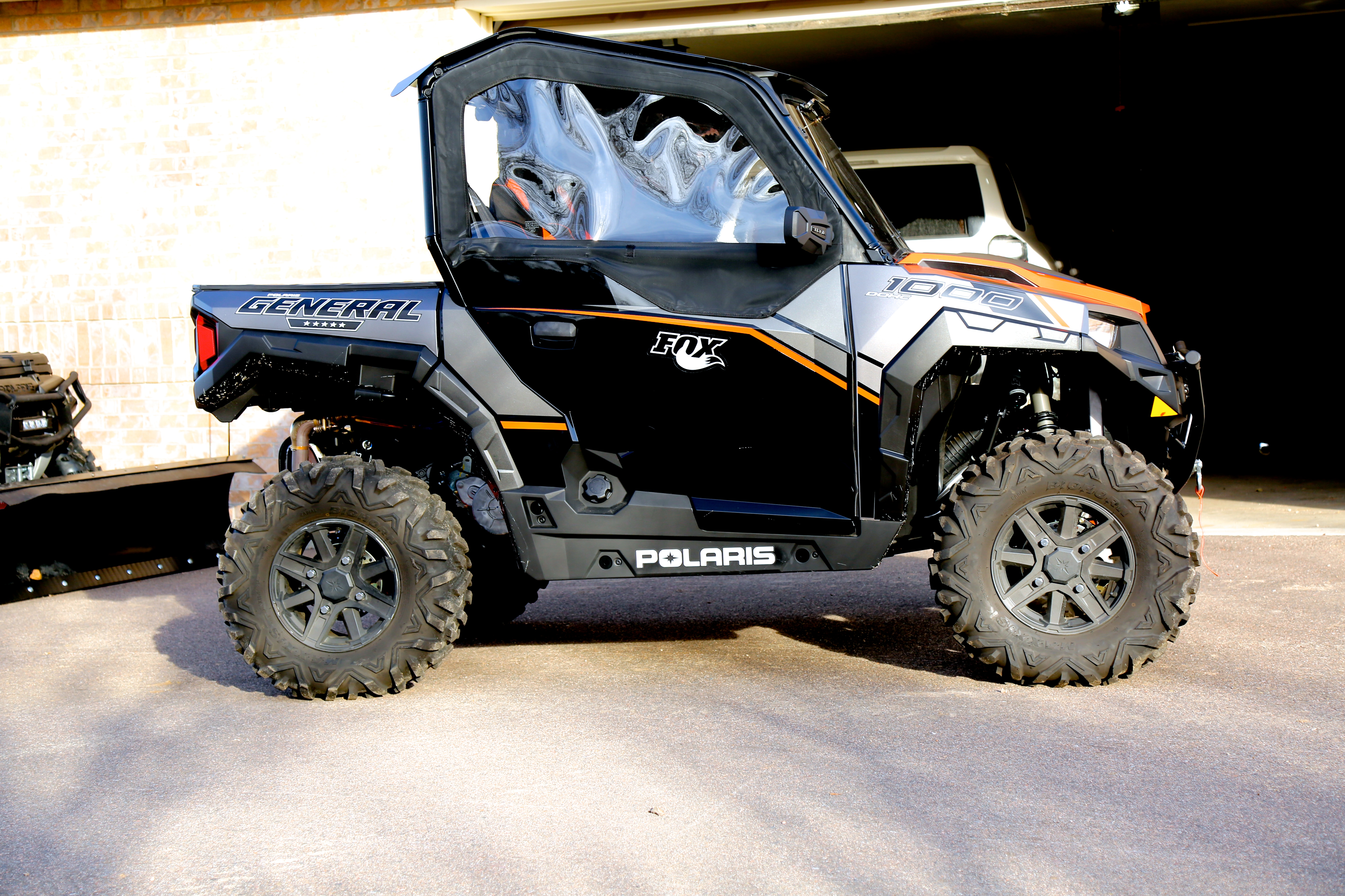 Fs Rzr Wheels With 29 Quot Tires Polaris General 1000 Forum